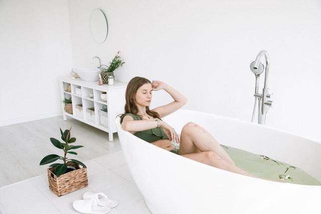 Consigue un baño relajante