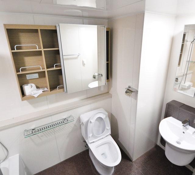 Muebles para baño pequeños