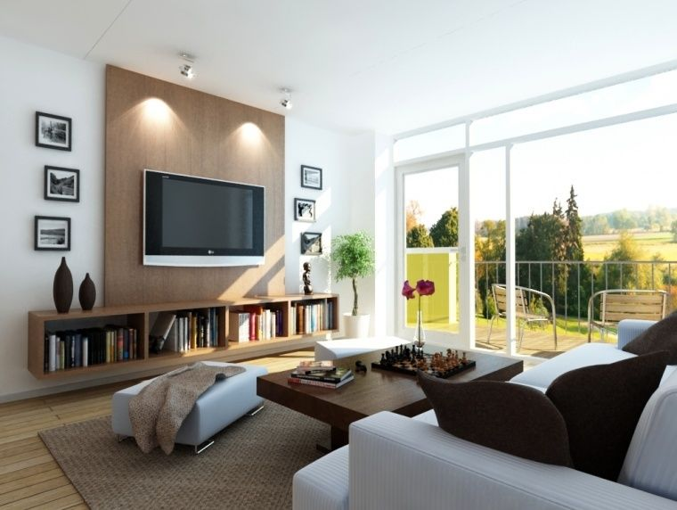 Ideas para pisos de sala de estar