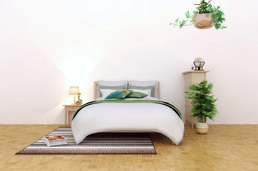 Dormitorio estilo naturaleza