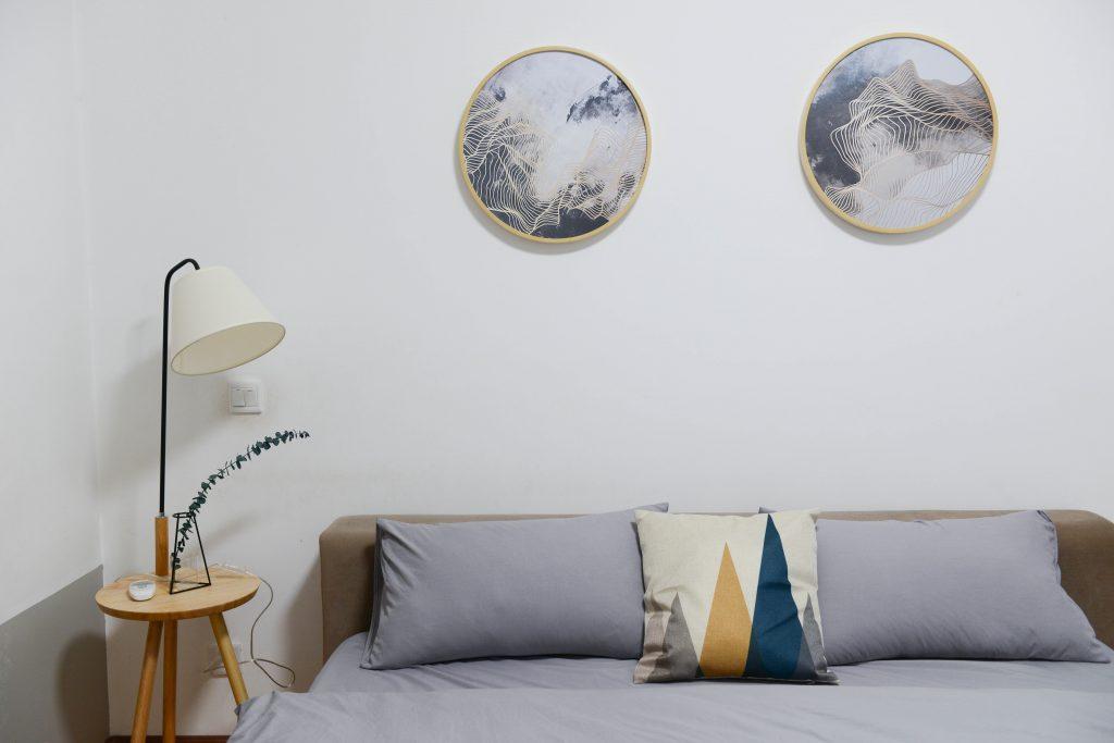 Dormitorio luminoso y acogedor