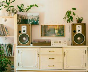 ideas de sala vintage
