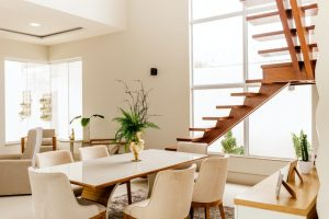 Escaleras modernas para interior