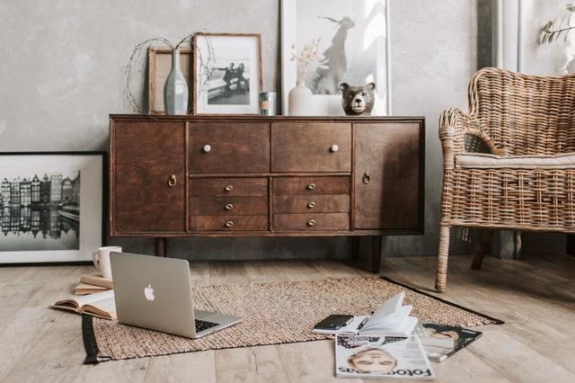 Tener un mobiliario rústico 2021